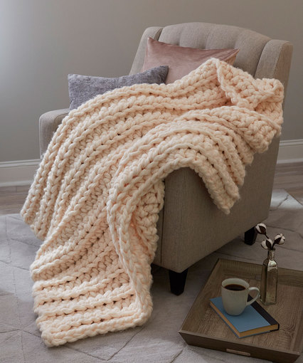 Gorgeous Crochet Throw | Red Heart