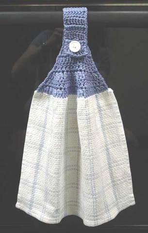 Basic Towel Topper - Free Crochet Pattern u2013 Maggie's Crochet