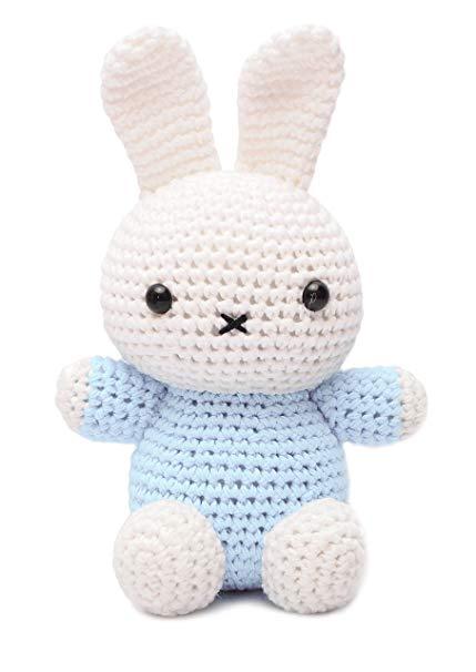 Amazon.com: Miffy Bunny Animal Handmade Amigurumi Stuffed Toy