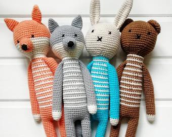 Crochet toys | Etsy