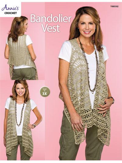 Crochet - Patterns - Build-a-Kit - Clothing - Bandolier Vest Crochet