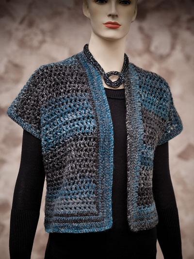 Crochet Patterns - Short Mesh Vest Crochet Pattern