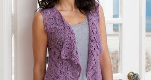 Crochet Vest Pattern | Red Heart
