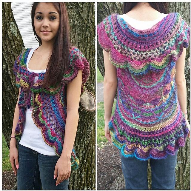 Ravelry: Sophie's Universe Circular Vest pattern by Jarta Jasmine