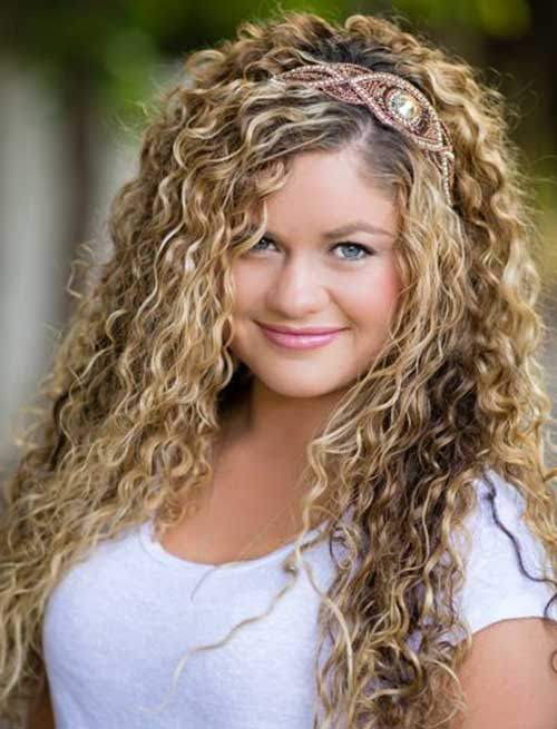 Curly Hairstyle Ideas - NerdSeven