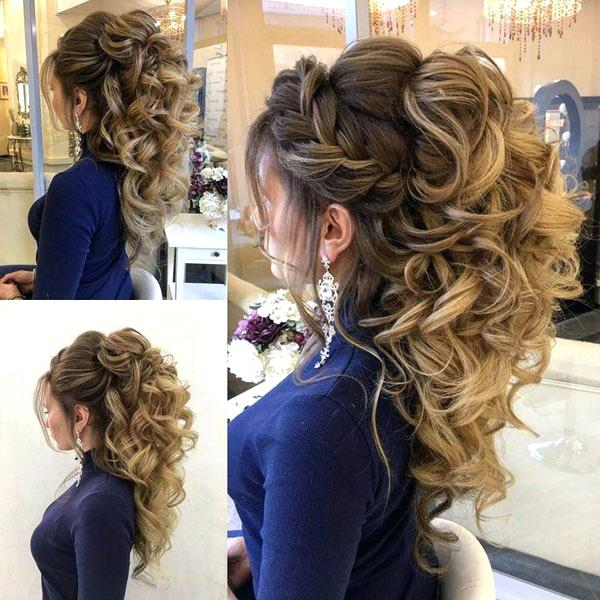 Prom Hairstyles Curly Prom Hairstyles For Long Hair Prom Hairstyles