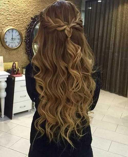 Braided Prom Hair | Formsl hair | Pinterest | Prom hair, Hair styles