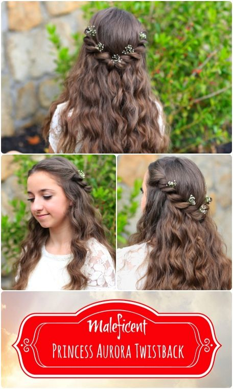 Princess Aurora Twistback | Inspired by Disney's Maleficent | Cute
