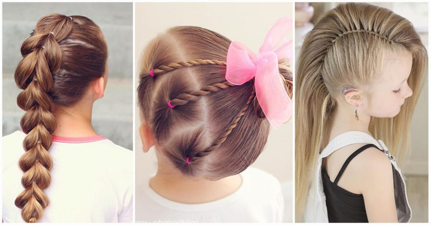 50 Pretty Perfect Cute Hairstyles for Little Girls to Show Off Their
