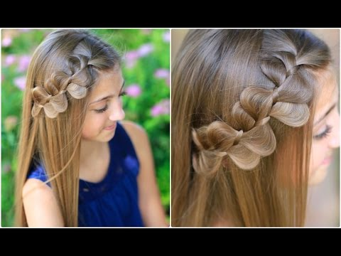 Rick Rack Braid | Cute Girls Hairstyles - YouTube