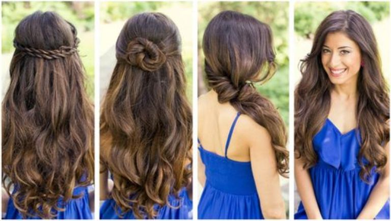 Cute easy down hairstyles for long hair - Hairstyles for Women