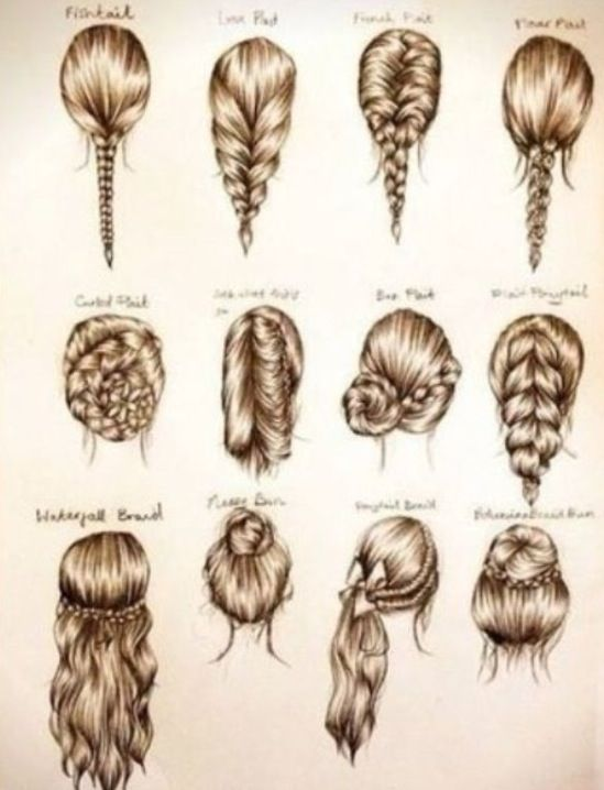 These are some cute easy hairstyles for school, or a party. | Hair