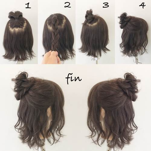 Quick and easy formal hairstyles - Hairstyles for Women