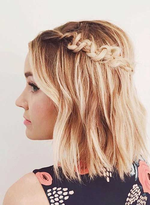 17 Cute Updo Hairstyles for Short Hair | Hairstyles Ideas