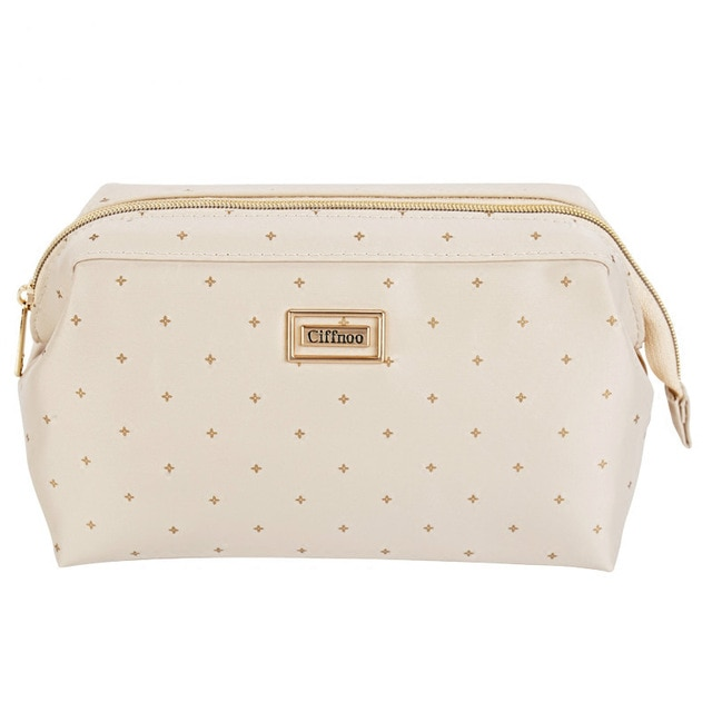 Store all your essentials in cute makeup   bags