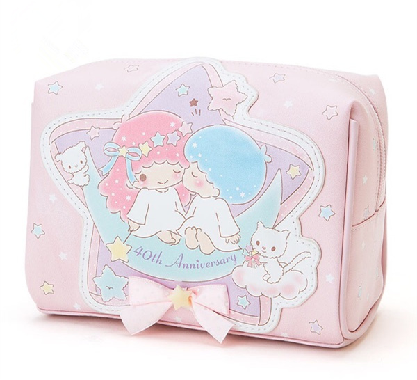 Little Twin Stars cute makeup bag handbag free shipping · HIMI'Store