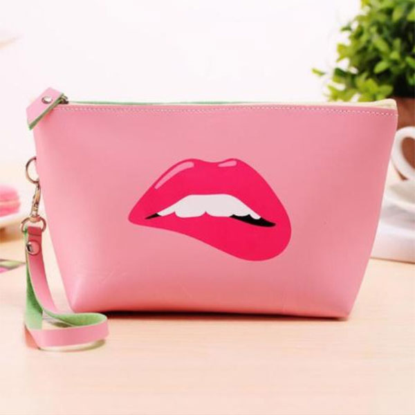 New Fashion Cute Cosmetic Makeup Bag Purse Wash Organizer Pouch