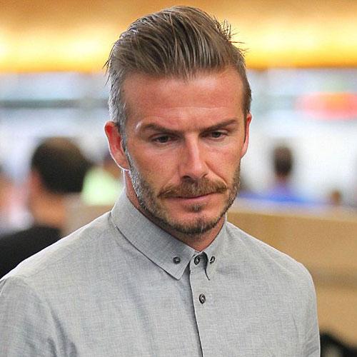 David Beckham Hairstyles | Men's Hairstyles + Haircuts 2019
