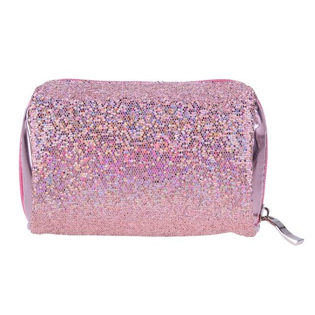 Designer Makeup Bags Sequins Luxury Cosmetic Bag Necessaries