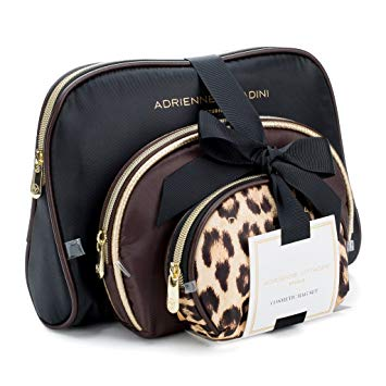 Amazon.com : Adrienne Vittadini Cosmetic Makeup Bags: Compact Travel