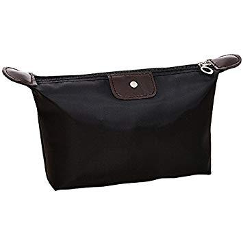 Amazon.com : 2Pcs Designer Makeup Bags Waterproof Frame Pouch Women