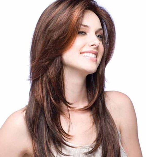Different Long Haircuts for Women Elegant Sleek and Straight Layered