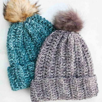 50+ Free Crochet Hat Patterns for Beginners | AllFreeCrochet.com