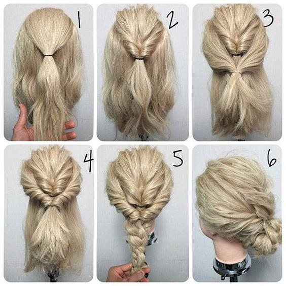 60 Easy Step by Step Hair Tutorials for Long, Medium,Short Hair