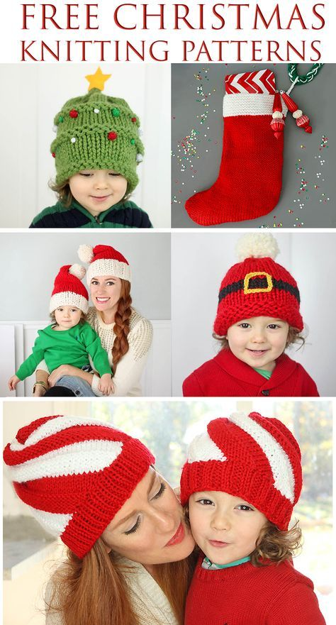 Free Christmas Knitting Patterns | Knitting | Pinterest | Christmas
