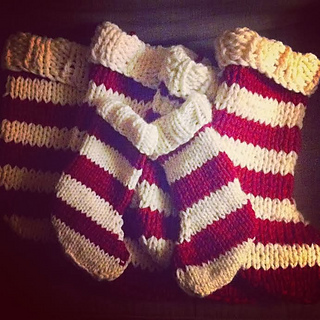 Ravelry: Easy Knit Christmas Stocking pattern by Candace Carroll