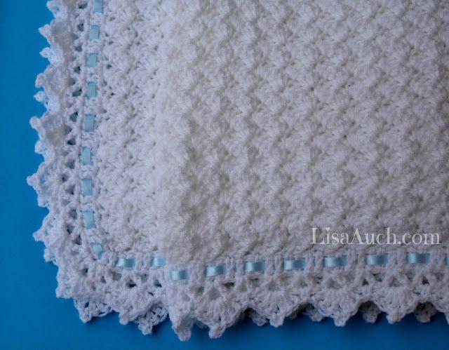 FREE Crochet Pattern Baby Blanket EASY - Little Clouds Crochet