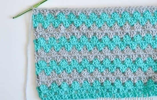 Incredibly Fast And Easy Baby Blanket Crochet Pattern | Free crochet