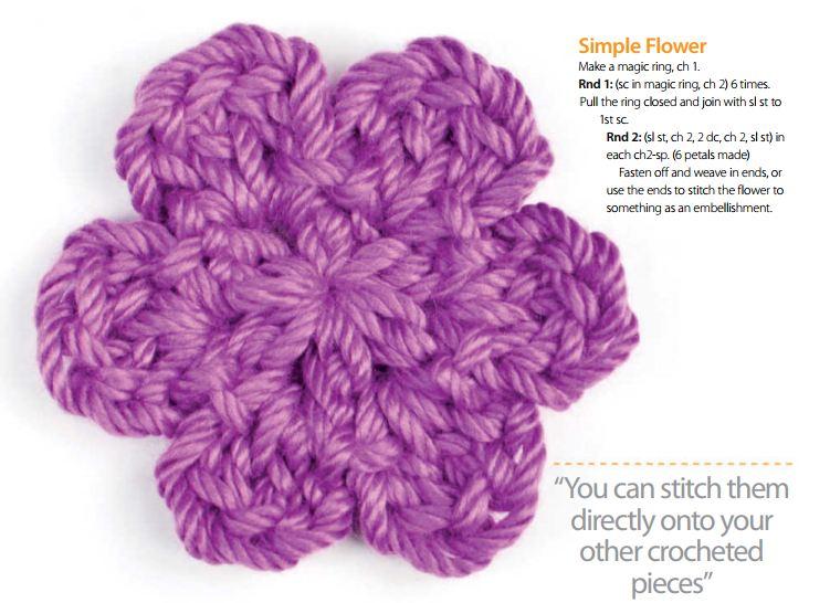 How To Crochet Easy Flower Pattern - Crochet Filet