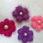 Tips for some easy crochet flower making