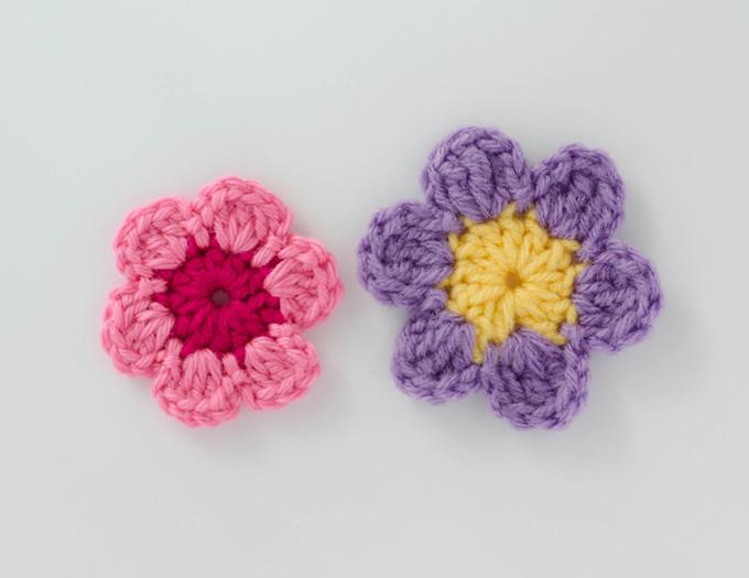 Easy Crochet Flower Pattern - Crochet 365 Knit Too