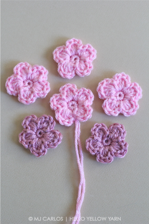 Simple Crochet Flower u2013 Pattern and Tutorial