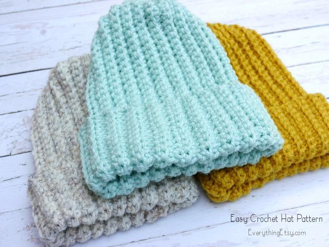 Easy Crochet Hatu2013Free Pattern - EverythingEtsy.com