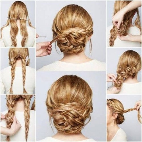 Long Hair Updos How To Style For Prom Hairstyle Tutorials hairstyles