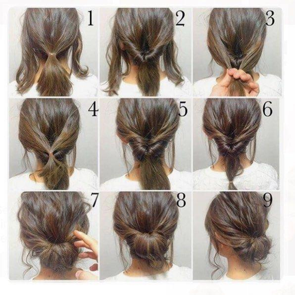 Easy hairstyles for short hair - Short and Cuts Hairstyles
