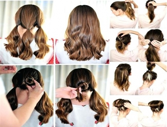 Hairstyles For Short Hair Updo Hairstyles Short Hair Easy regarding