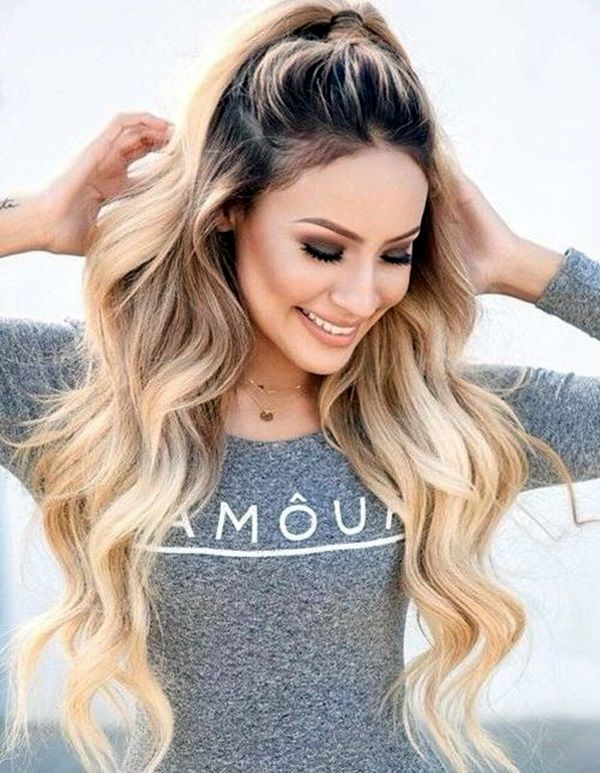 45 Easy Hairstyles for Long Thick Hair | Eye makeup | Pinterest