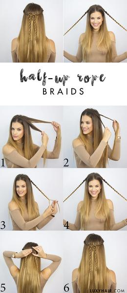 Know Way To Get Easy Hairstyles For Long Hair Fashionarrow Com