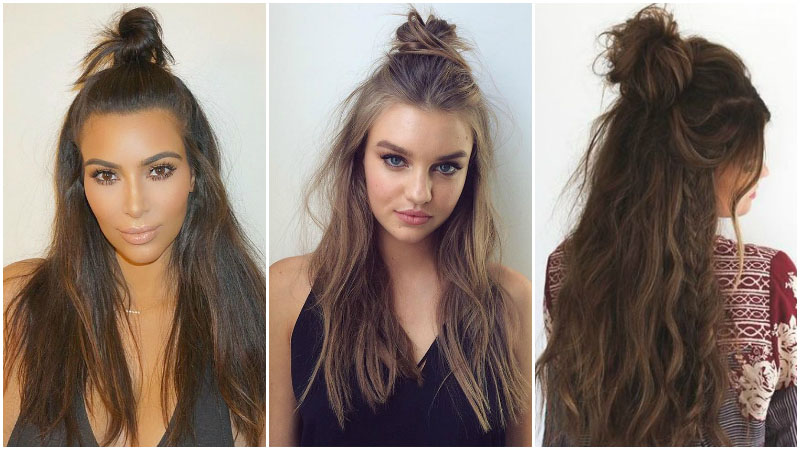 Know way to get easy hairstyles for long   hair