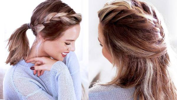 5 Easy Hairstyles For Short/Medium Length Hair [Spring Edition