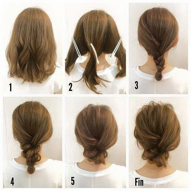 Fashionable Braid Hairstyle for Shoulder Length Hair | Hair