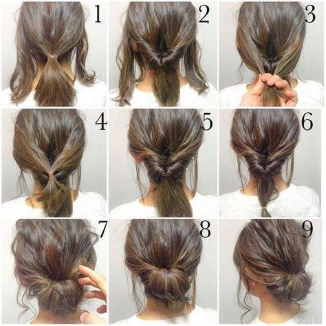Top 10 Messy Updo Tutorials For Different Hair Lengths Medium easy