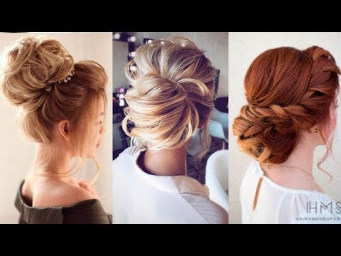 10 Easy Updo Hairstyles for Medium Length Hair in 2018 ❀ Hair Updo