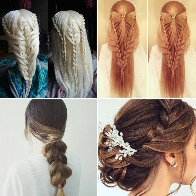 34 Easy Women Hairstyles for Long Hair on Festivals - Sensod