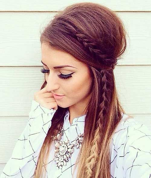 Get cute and easy hairstyles for women