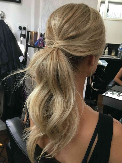 Chic and elegance two qualities in one   with some easy hairstyles